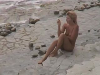 3 girls nude AT naturist BEACH