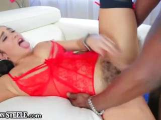 Lexington ready Absolutely furious big black cock romping For Karlee Grey