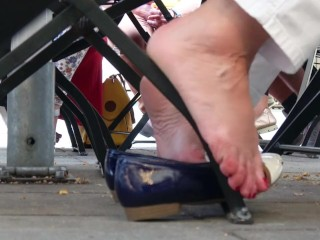 Lady's awesome Flats Dipping 1