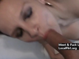 Big-titted German cougar Takes astounding internal cumshot From Behind