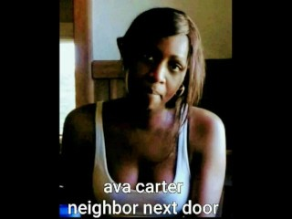 Ava Carter animated neighbor next door 2