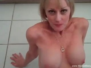 Fetish joy With glorious first-timer GILF