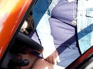 Grown up upskirt parking 4