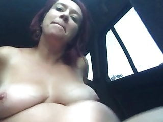 French mature showing her jugs