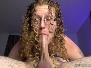 Husband gives congenital ginger-haired cougar Ivy a pulsing jizz in jaws while 69'ing