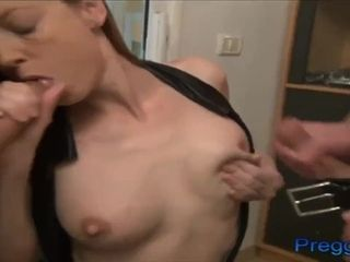 Real first-timer mummy preggie and lactation fetish vids