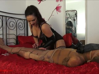 2nd wrecked climax: After spectacularly wrecking an climax, domina Ezada
