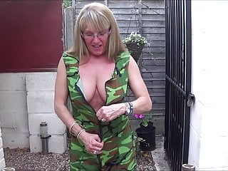 Total Back Knicker's Army woman 2