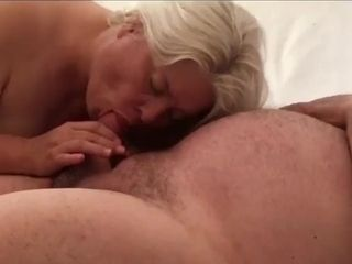First-timer wifey gives truly lovely suck off with spunk guzzle