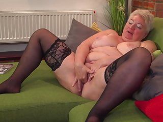 Plump grandma Babet needs anal invasion and vaginal hook-up