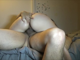 Obese get hitched Riding load of shit