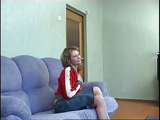 Russian mommy & tramp Anal S88