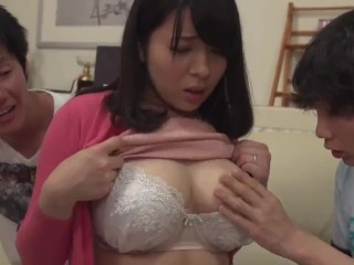 Nourisher MISHIMA NATSUKO WHO IS ready-to-eat SEXUALLY unconnected with BOTH ruler SON-39-S join up