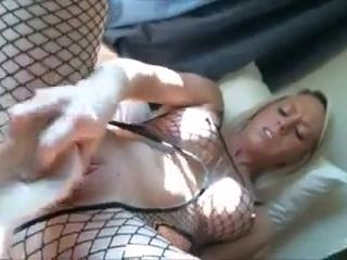 Wifey fake penis and oral pleasure