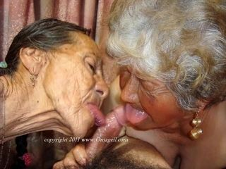 OmaGeiL bush-leaguer Granny Blowjob added to lickerish Pictures