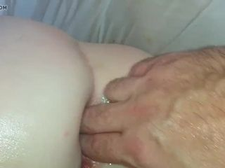 Brit swinger mom deep ass-fuck and gape part trio