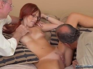 Aged granny anal Frannkie plus an obstacle federate close by