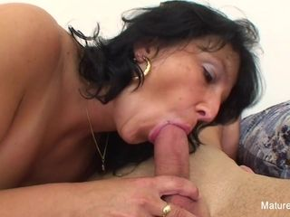 Big-boobed granny Takes A explosion On Her boobs - Mature'NDirty