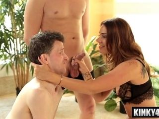 Hotwifey Needs To deep-throat enormous manstick After His wifey