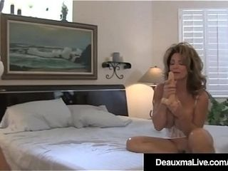Crazy wifey Deauxma watches spouse butt ravage Sally D&rsquo_Angelo!
