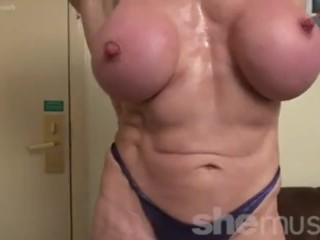 FBB Jana Linke in the buff