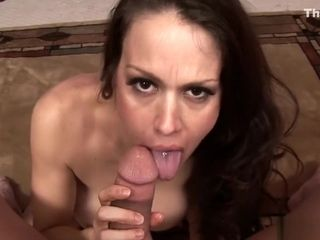 Bustybrunette mature slams his beefstick in her humid cootchie