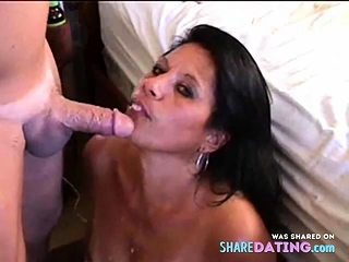 First-timer ATM atm with facial cumshot