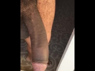 Girlfriend desired video of My big black cock While I was Out of Town for Work