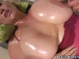 Samantha 38G hj jizz shot sloppy converse Looped double-pussy-penetration