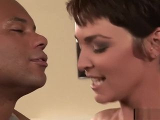 Cougar wifey Charlie James nails a dark-hued boy in Front of Her spouse