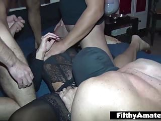 My join in matrimony saucy Gangbang! Pure inexpert! Anal & displaced person