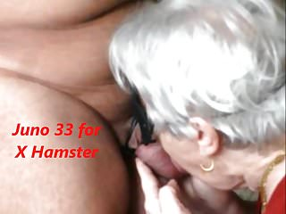 Granny swallows a difficulty cum added to she likes douche