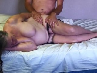 Grandma longed-for anal intercourse