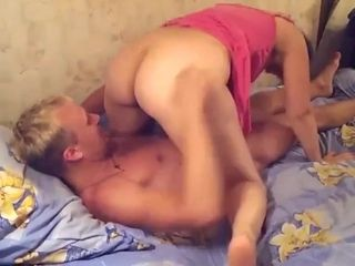 Fellow smashing Russian mature mommy with immense bum