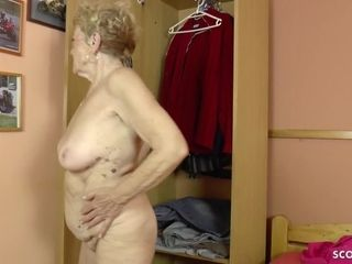 75yr older GERMAN grandma USCHI lure youthful studs TO pound HER