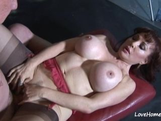 Baldy luvs to have making out a spunky cougar hotty