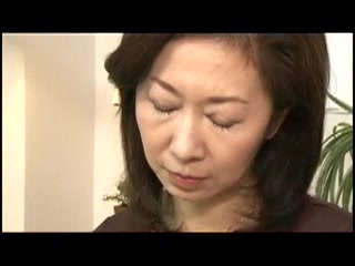 Asian matriarch Gets Fucked hard by the brush darling