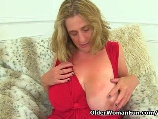 Brit cougar Camilla internal ejaculation needs orgasmic enjoyment