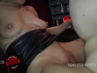 Cum Cum Cum increased by Anal ofwards interdiction of Sperma Milf Klara