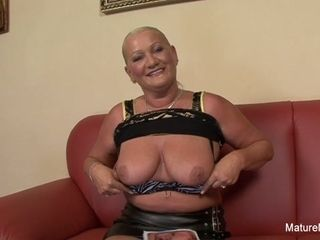 Huge-titted light-haired grandmother Takes It In The donk - Mature'NDirty
