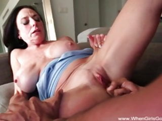 Super-naughty mommy nails bbc