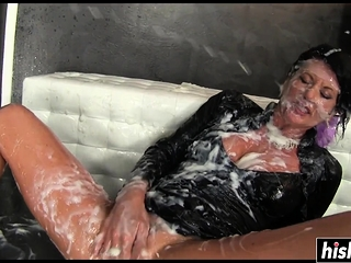 Killer Celine knows how to use a fuck stick