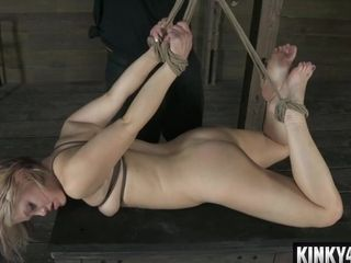 My wifey Has first-ever restrain bondage sesh