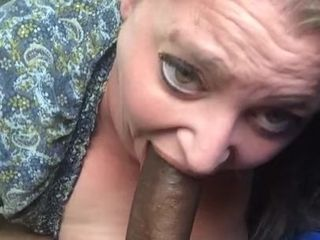 Plus-size throating big black cock on lunch break 2