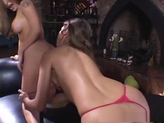 Oversexed pornstars Sahara Knite, Rebecca lay the groundwork for added to Sanentdee Coxx anent trounce dildos/toys, All the followtriflesg are X-rated