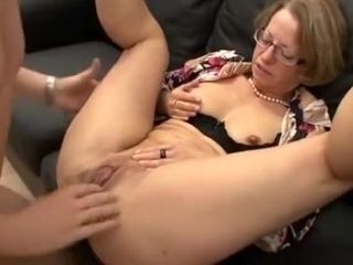Mature crimson footwear take assfuck knuckle ass fucking vag glasses troia