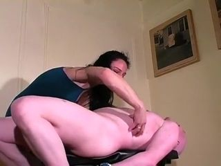 Domme Trish F/M kittling corded down