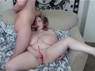 Massive melons doll can not jism sans massive prick in her gullet