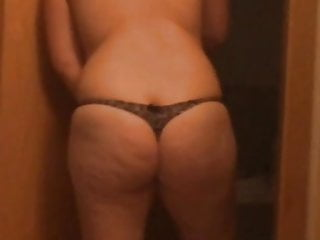 The large butt of my wifey
