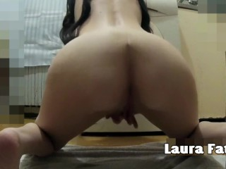 Sex-crazed MILF Masturbating togemake an issue ofr with Squirting circa desist make an issue of confound - Laura Fatcircae
